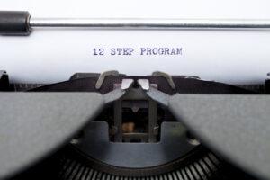 12 Step Program Worksheet