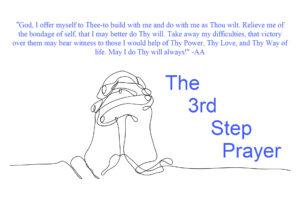 3rd Step Prayer
